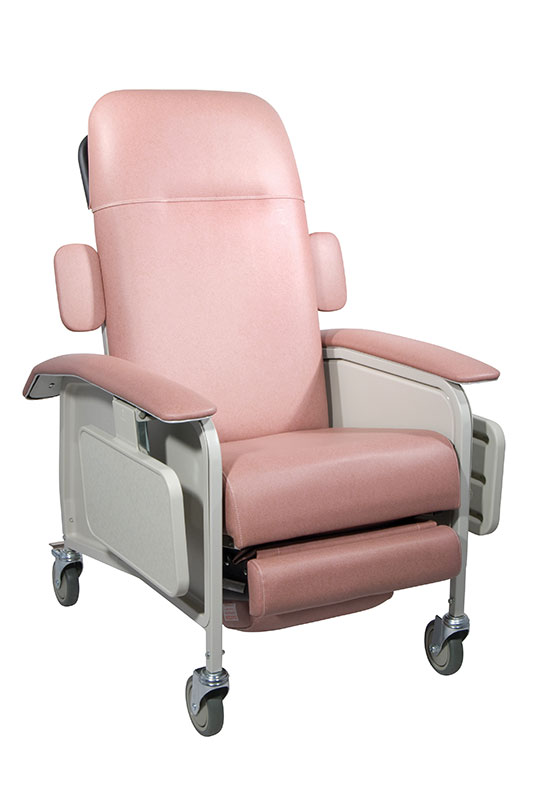 Drive Medical Clinical Care Rosewood Geri Chair Recliner