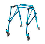 Drive Medical Youth Nimbo Rehab Lightweight Posture Walker Blue