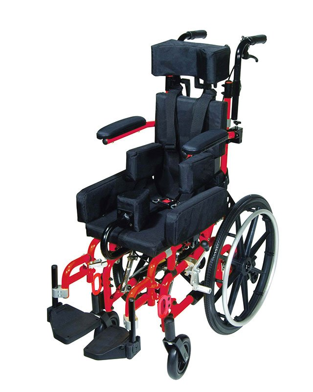 Drive Medical Kanga TS Pediatric Tilt In Space Wheelchair 14