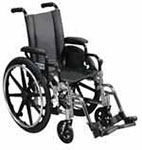 "Drive Medical 12"" Lightweight Wheelchair Viper - L412DDASF thumbnail"
