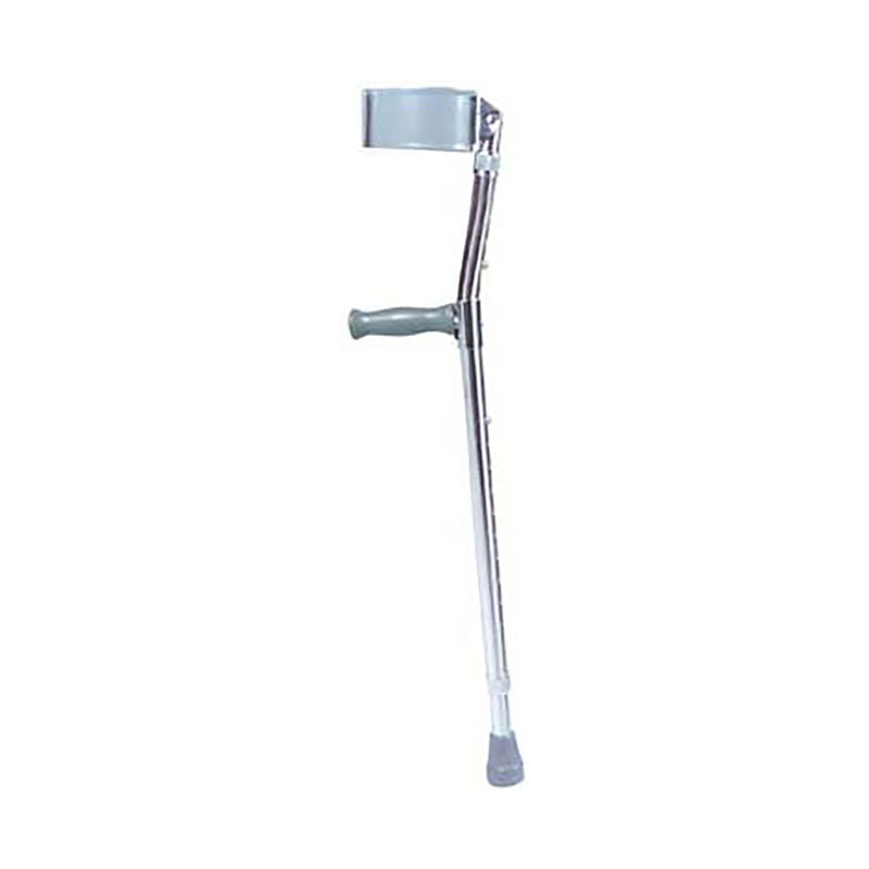 Drive Medical Lightweight Walking Forearm Crutches Chrome - Tall Adult