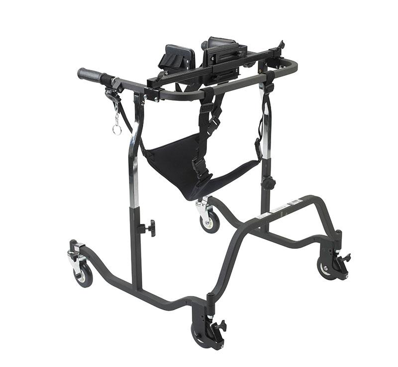Drive Medical Adult Luminator Black Anterior Gait Trainer