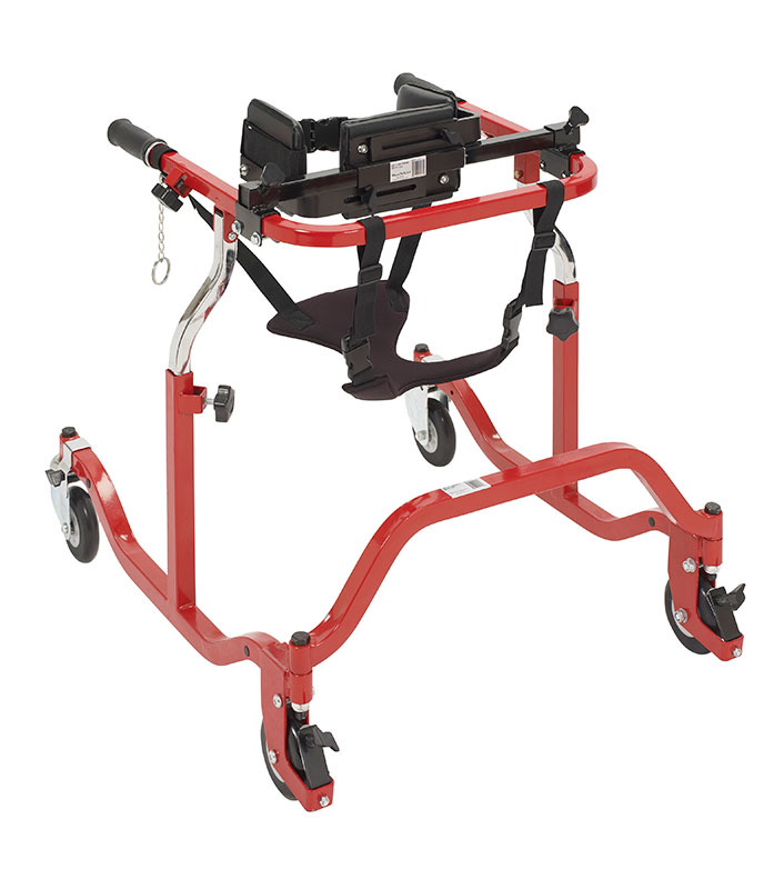 Drive Medical Pediatric Luminator Red Anterior Gait Trainer