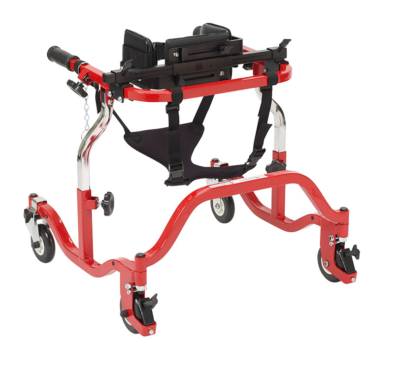 Drive Medical Tyke Luminator Red Anterior Gait Trainer