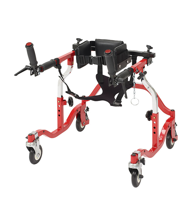Drive Medical Tyke Luminator Red Posterior Gait Trainer