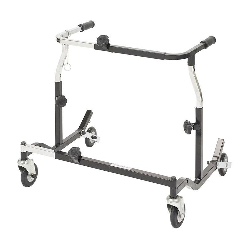 Drive Medical Pediatric Black Adjustable Width Anterior Safety Roller