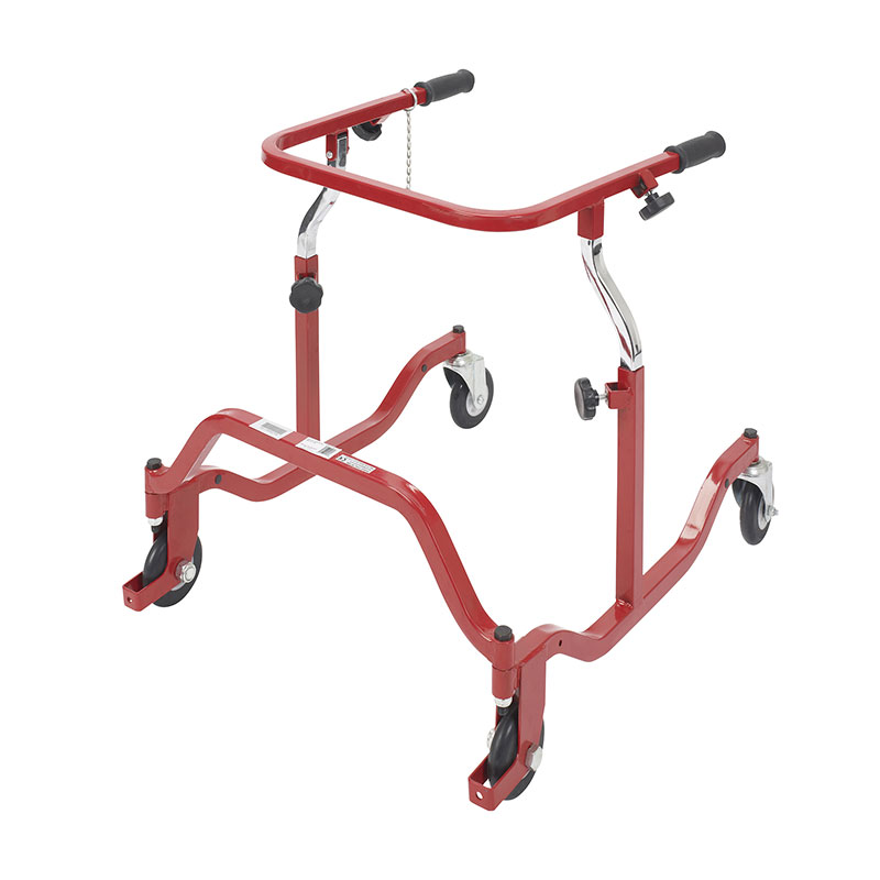 Drive Medical Pediatric Red Posterior Safety Roller