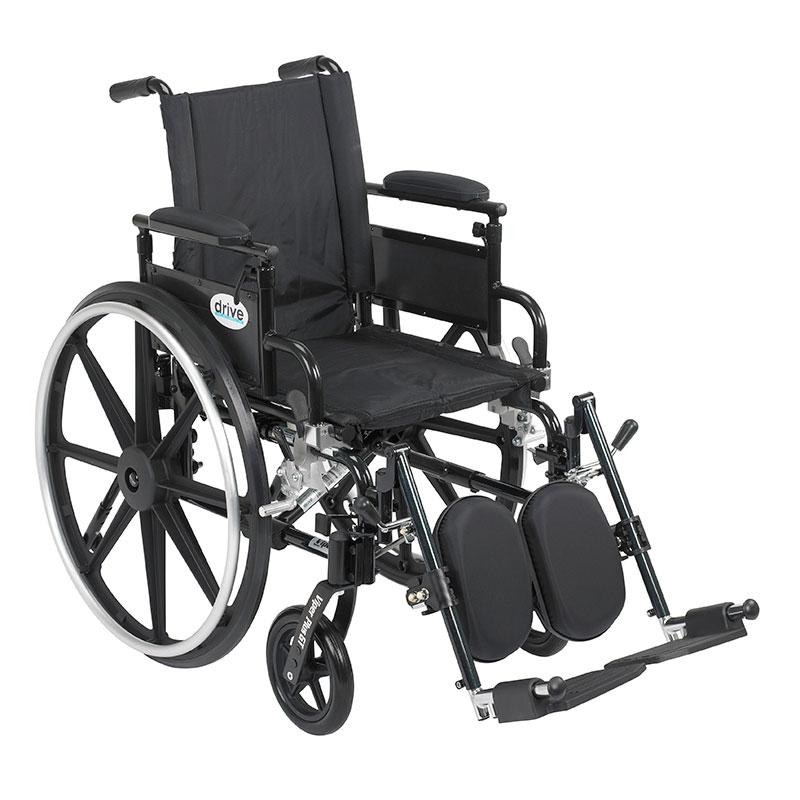 Drive Medical Viper Plus GT Adj Desk Arm & Leg Rest PLA416FBDAARADELR