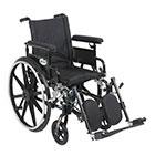 Drive Medical Viper Plus GT Adj Full Arm & Leg Rest PLA416FBFAARADELR thumbnail