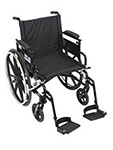 Drive Medical Viper Plus GT Adj Desk Arm & Footrest PLA418FBDAARADSF thumbnail