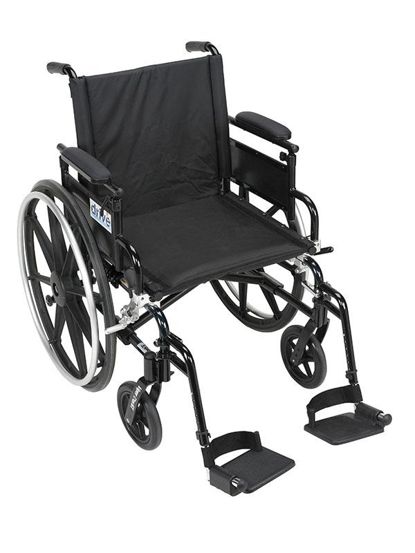 Drive Medical Viper Plus GT Adj Desk Arm & Footrest PLA418FBDAARADSF