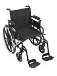 Drive Medical Viper Plus GT Adj Desk Arm & Footrest PLA420FBDAARADSF thumbnail