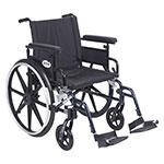 Drive Medical Viper Plus GT Adj Full Arm & Footrest PLA420FBFAARADSF thumbnail
