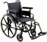 Drive Medical Lightweight Wheelchair Viper Plus GT - PLA422FBFAARSF