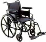 Drive Medical Lightweight Wheelchair Viper Plus GT - PLA422FBDAARSF