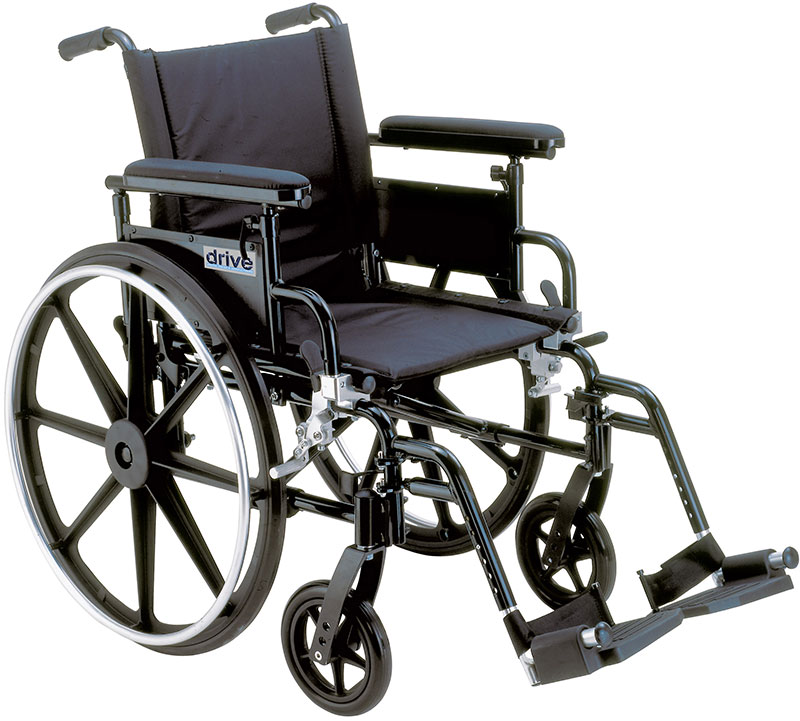 Drive Medical Lightweight Wheelchair Viper Plus GT - PLA422FBFAARELR