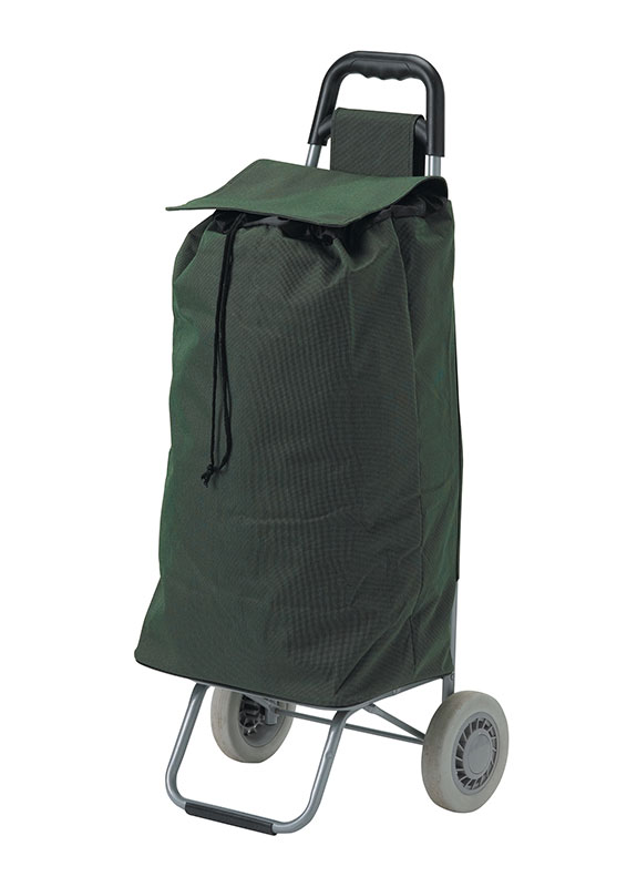 Drive Medical Green All Purpose Rolling Shopping Utility Cart