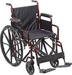 Drive Medical Rebel Lightweight Wheelchair thumbnail