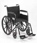 Drive Medical Silver Sport I Wheelchair - SSP118FASF