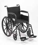 Drive Medical Silver Sport I Wheelchair - SSP118FASF thumbnail