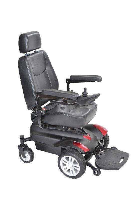 Drive Medical Titan Front Wheel Power Wheelchair 18 Inch TITAN18CS