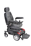 "Drive Medical Titan Front Wheel Power Wheelchair 20"" Captain Seat thumbnail"