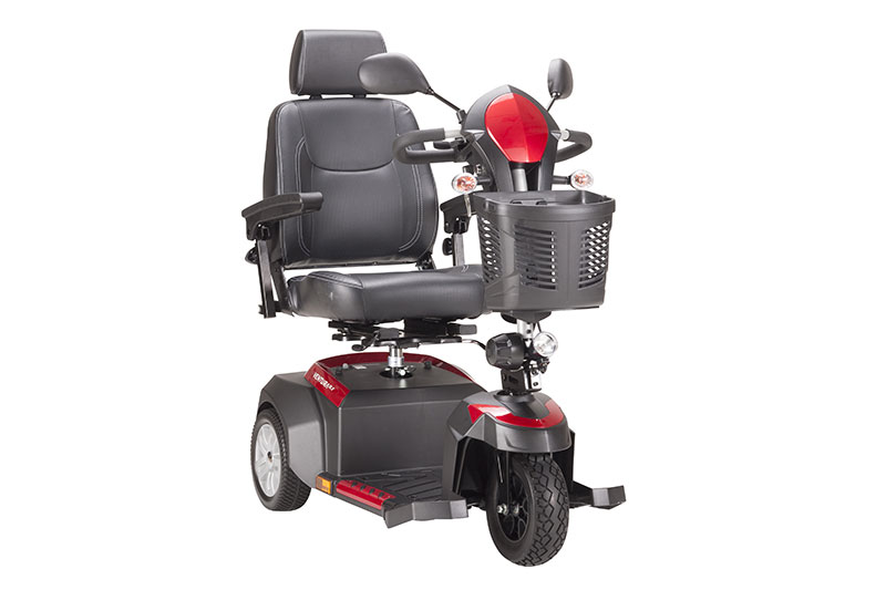 Drive Medical Ventura 3 Wheel Scooter with Captain Seat
