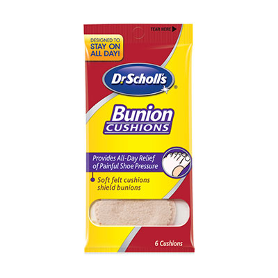 Dr. Scholl's Bunion Cushions With ComfortPlus - Pack of 3