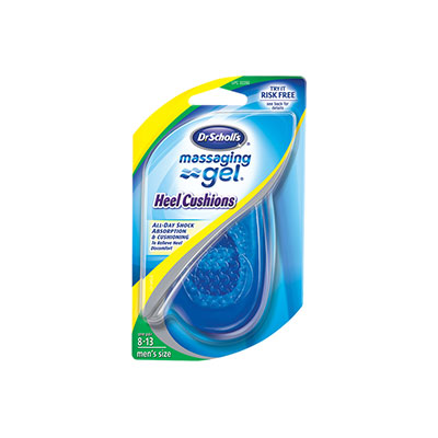 Dr. Scholl's Massaging Gel Heel Cushions For Men Pair - Pack of 3