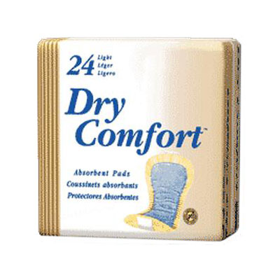 Dry Comfort Incontinence Pad Beige Sold By Package 24/Each