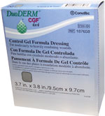DuoDERM CGF Sterile Dressing - 3.7 inch x 3.8 inch 187658 20/bx
