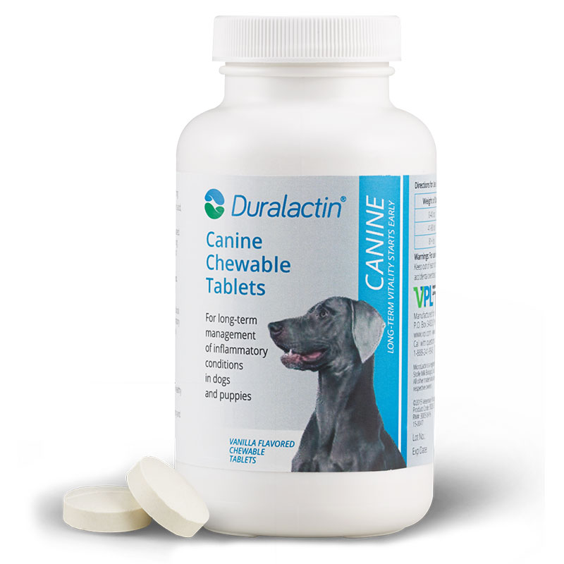 Duralactin Canine - 60 Chewable Tablets