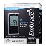 Embrace No-Code Talking Blood Glucose Meter Kit thumbnail