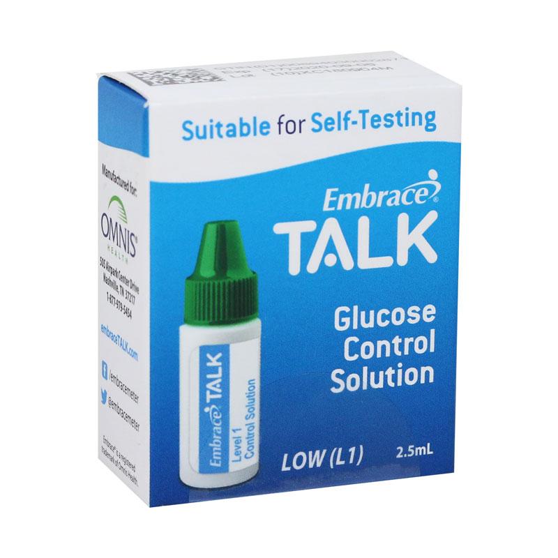 Embrace Talk Control Solution Low - 1 bottle