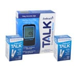Embrace Talk No-Code Blood Glucose Meter w/100 Test Strips thumbnail