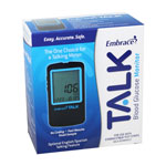 Embrace Talk No-Code Blood Glucose Meter - Pack of 12 thumbnail