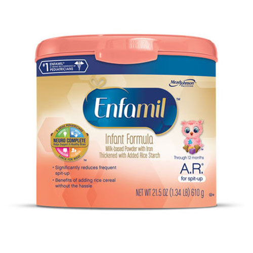 Enfamil A.R. Acid Reflux Lipil Infant Formula Powder 12.7oz 24-Pack