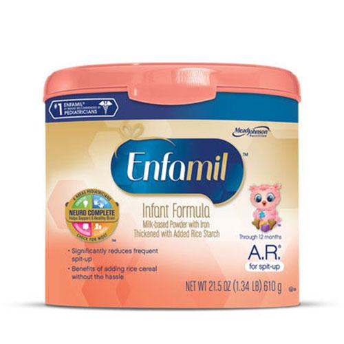 Enfamil A.R. Acid Reflux Infant Formula Powder 21.5oz Each thumbnail