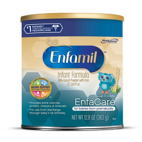 Enfamil Enfacare Powder With Lipil Infant Formula 12.8oz 6-Pack