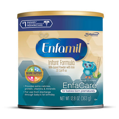 Enfamil Enfacare Powder Lipil Infant Formula 12.8oz Pack of 24