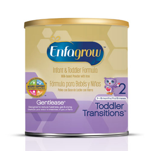Enfamil Enfagrow Gentlease For Toddlers Powder 21oz 4-Pack