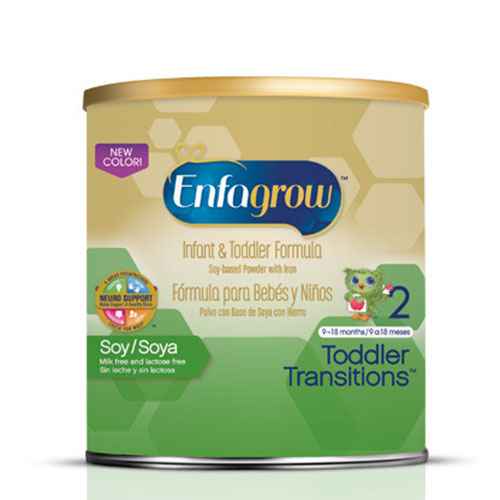 Enfamil EnfaGrow Toddler Transitions Soy Powder 21oz 4-Pack