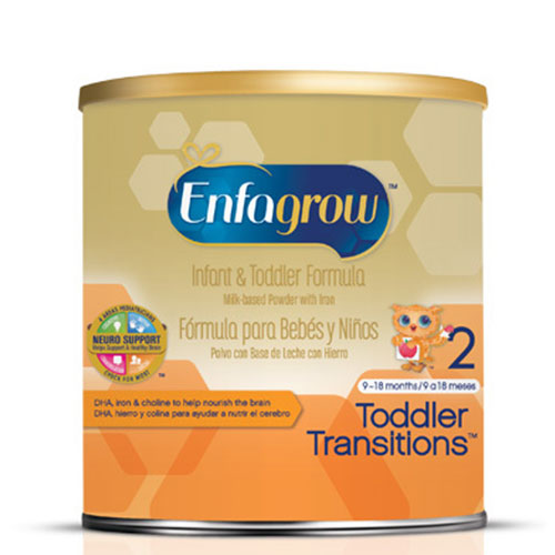 Enfamil Gentlease Toddler Transitions Formula Powder 21.5oz Each