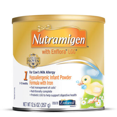 Enfamil Nutramigen For Infants With Enflora LGG Powder 12.60oz 4-Pack