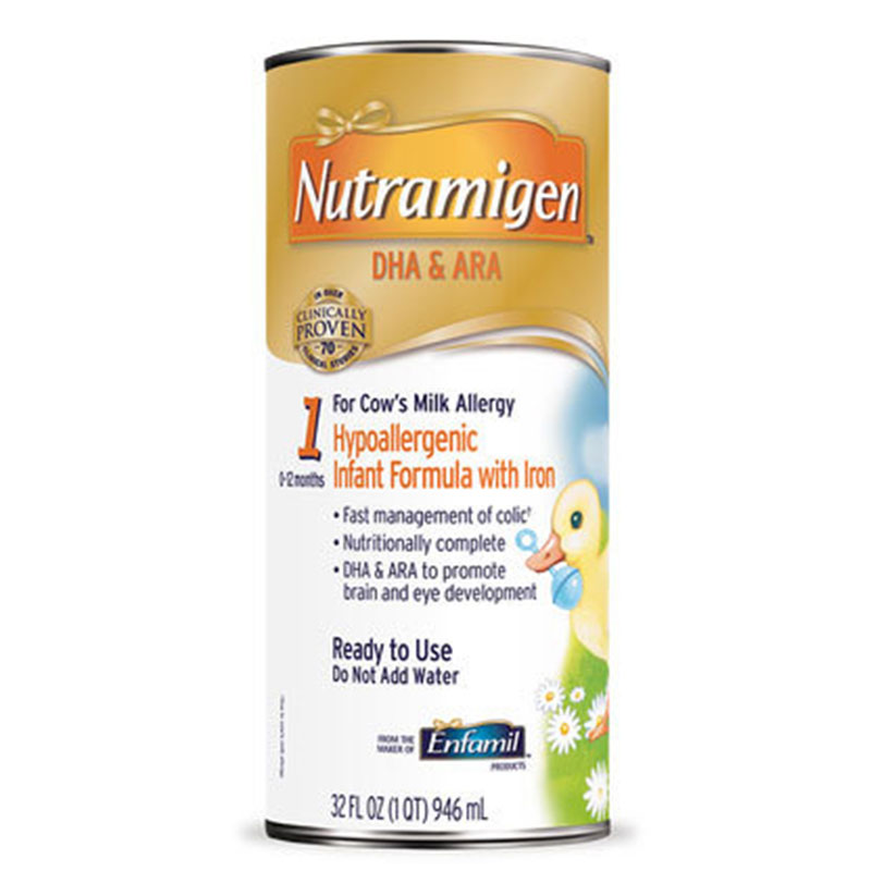 Enfamil Nutramigen Ready To Use Infant Formula With Lipil 32oz 4-Pack