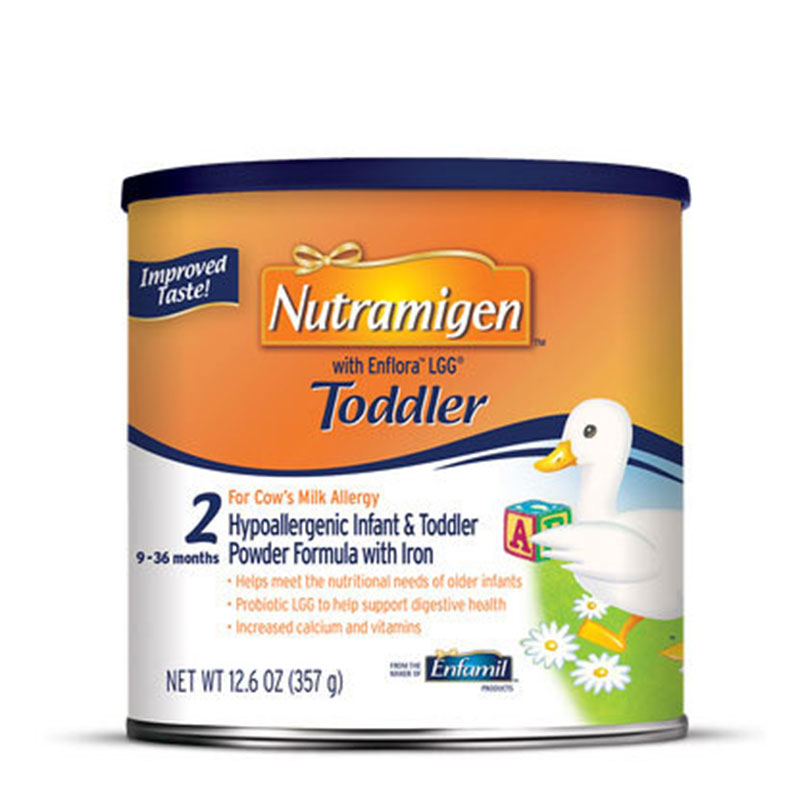 Enfamil Nutramigen With Enflora LGG Toddler Formula 12.6oz 4-Pack