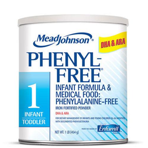 Enfamil Phenyl-Free 1 Metabolic Formula Milk Powder 1lb 4-Pack