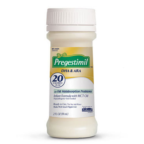 Enfamil Pregestimil DHA & ARA With Lipil Ready To Use 2oz Pack of 192