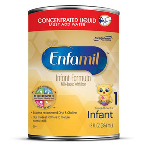 Enfamil Premium Infant Formula Concentrated Liquid 13oz 4-Pack