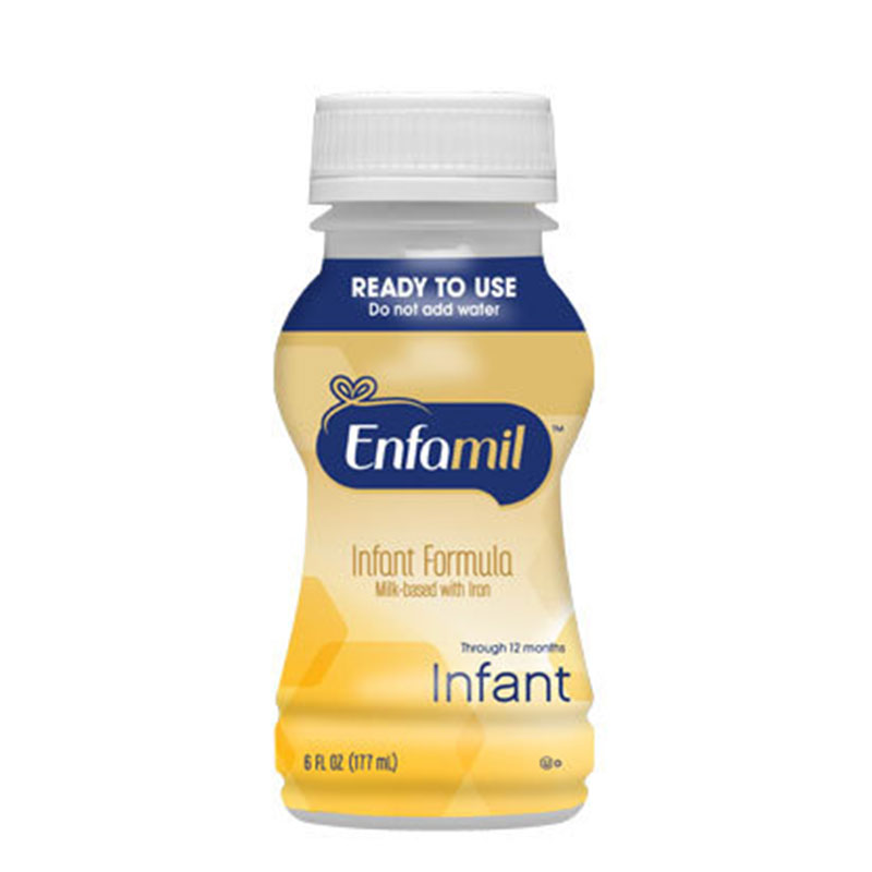 Enfamil Premium Infant Formula Ready To Use Nursette 6oz Pack of 96